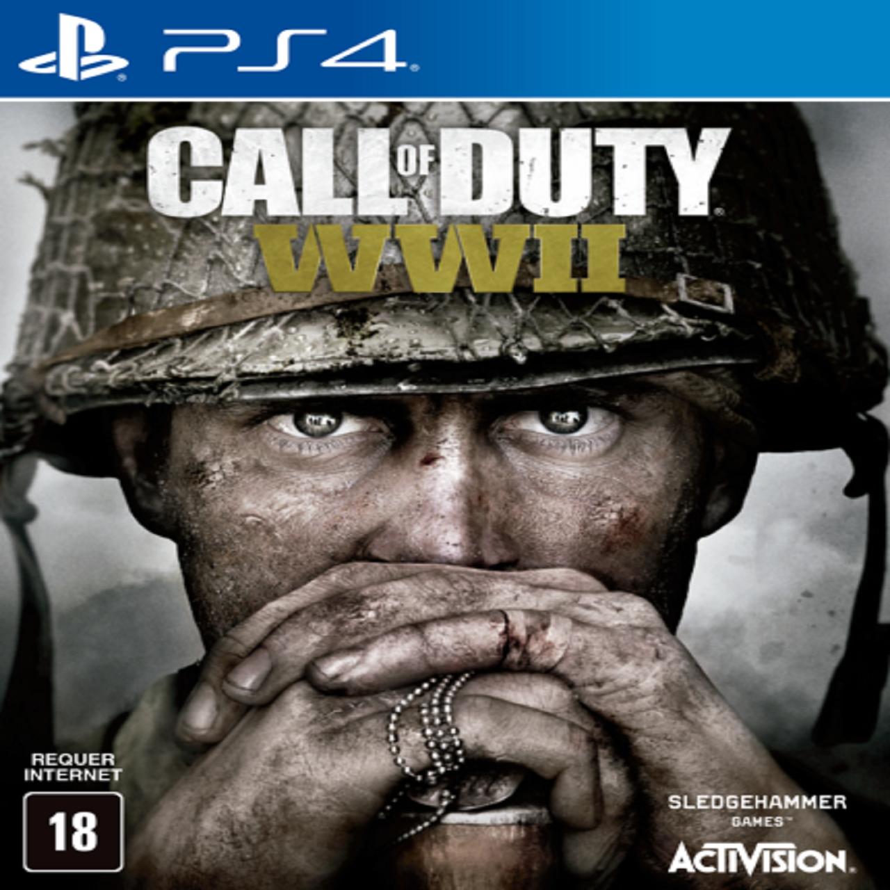 Call of Duty WWII (английская версия) PS4 (Б/У)