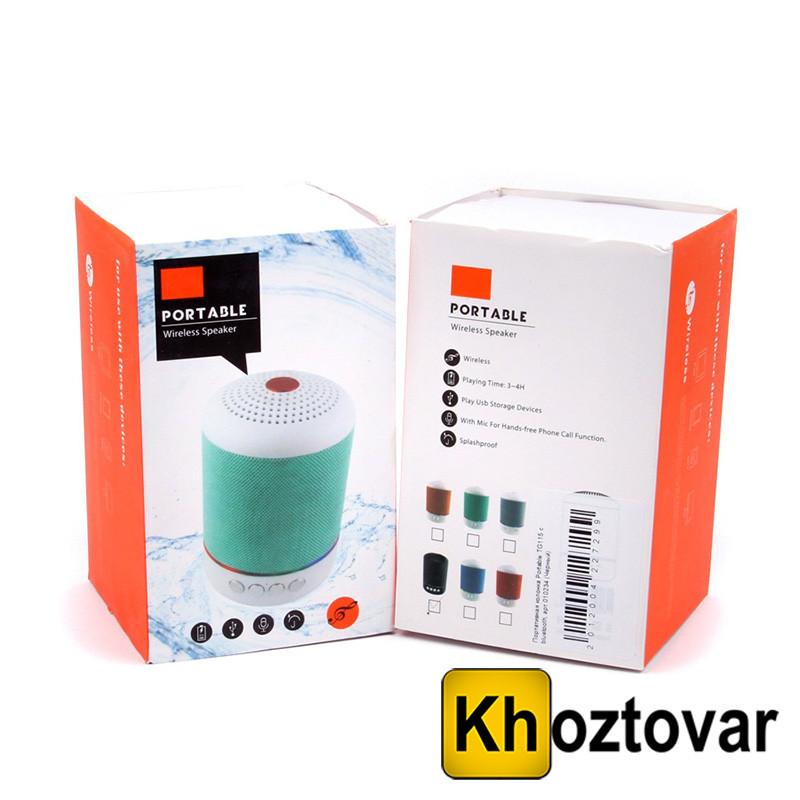 Портативна Bluetooth колонка TG-115