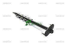 Колышки для крепления агроволокна, агроткани, геотекстиля, фото 2