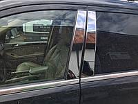 Mercedes GL X164 Молдинг дверных стоек нерж