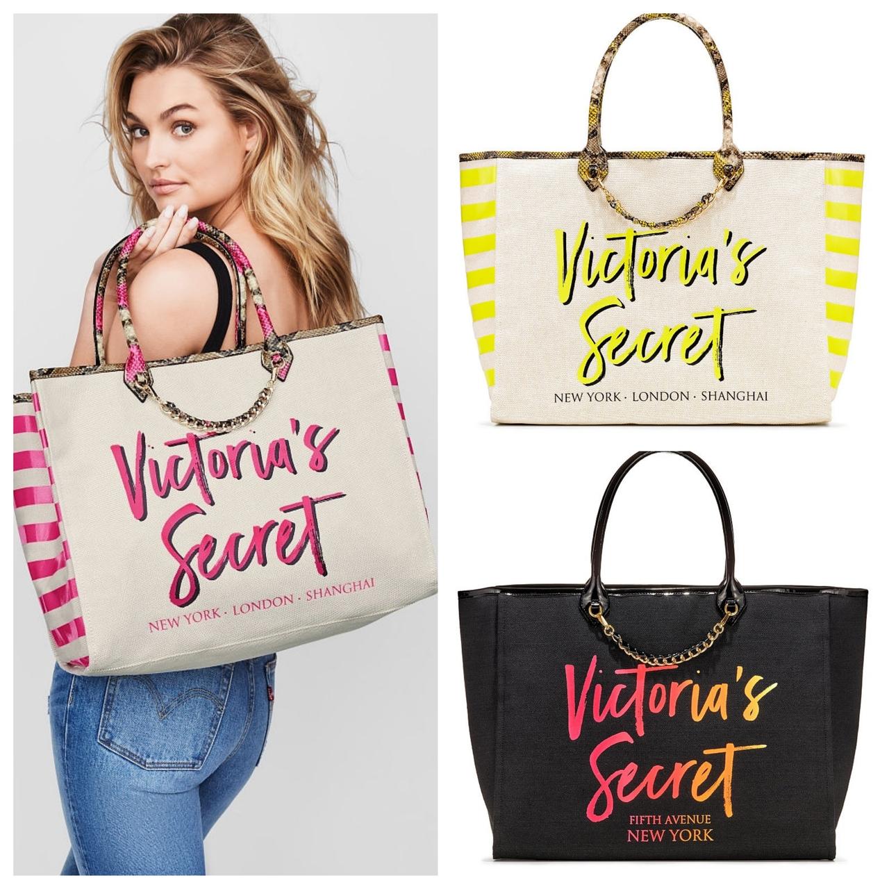 d639084764e2 Оригинал Шоппер пляжная сумка большая Victoria Secret сумки Виктория Сикрет