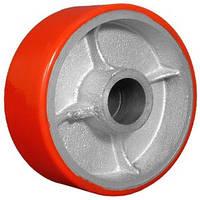 Колесо для гидравлической тележки / колесо для роклы / колесо полиуретановое рулевое