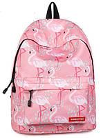 Школьный рюкзак Розовый Фламинго, фото 1