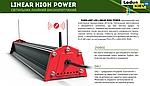 Світлодіодний високопотужний світильник EUROLAMP LINEAR HIGH POWER 150W 5000K LED-LHP-150W, фото 4
