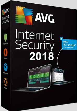 AVG Internet Security 3 ПК 1 год (электронная лицензия)