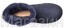 Женские угги UGG Classic Cuff Mini Imperial (мини Угги Австралия) оригинал синие, фото 3