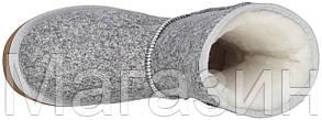 Женские угги UGG Classic Short Ripple Grey (короткие Угги Австралия оригинал UGG Australia) серые, фото 2