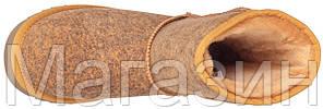 Женские угги UGG Classic Short Ripple Chestnut короткие Угги Австралия оригинал UGG Australia рыжие, фото 2