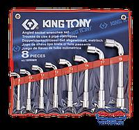 Набор ключей Г-образных (файковых) KING TONY 1808MR (18 пред.)