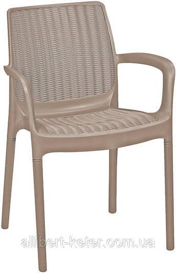 Стілець - крісло Bali Mono капучіно (Keter)