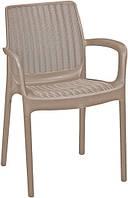 Стілець - крісло Bali Mono капучіно (Keter), фото 1
