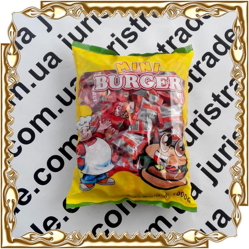 Желейные конфеты Mini Burger (мини бургер) 10 гр. 50 шт.