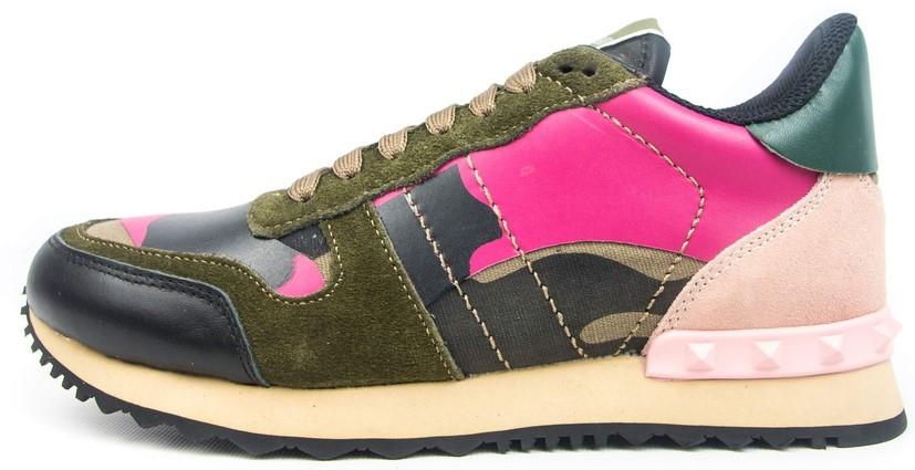 Женские кроссовки Valentino Garavani (Валентино) разноцветные