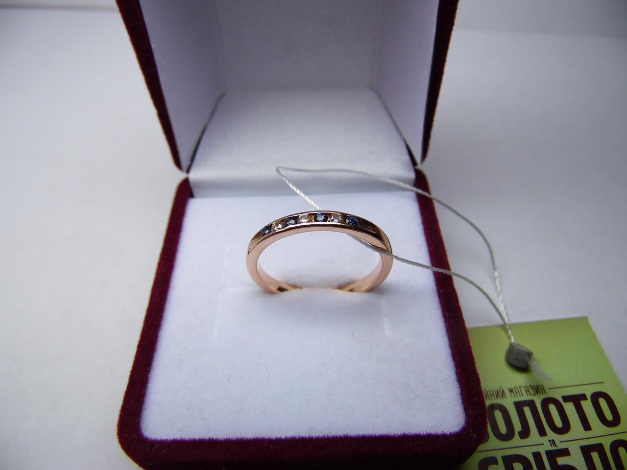 6a4575392c7a Женское Золотое Кольцо с Бриллиантами, Размер 18,5 — в Категории ...
