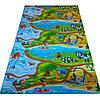 "Развивающий 3-х слойный  детский игровой коврик ""Мадагаскар"" 2500х1200х12мм, фото 3"
