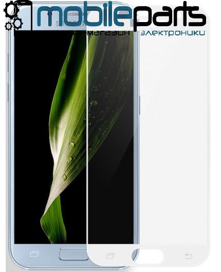 Защитное стекло для мобильного телефона Samsung G532 | J2 Prime (0,25 мм,3D)(Белое)(Тех.упаковка,без салфеток)