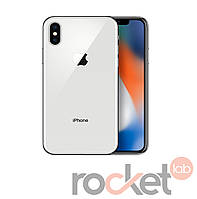 Apple iPhone X (10) 64Gb Silver, фото 1