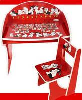 Современная функциональная парта для детей от 2 до 8 лет «котята» – совместим игру и обучение