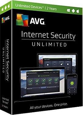 AVG Internet Security Unlimited 2 года (электронная лицензия)