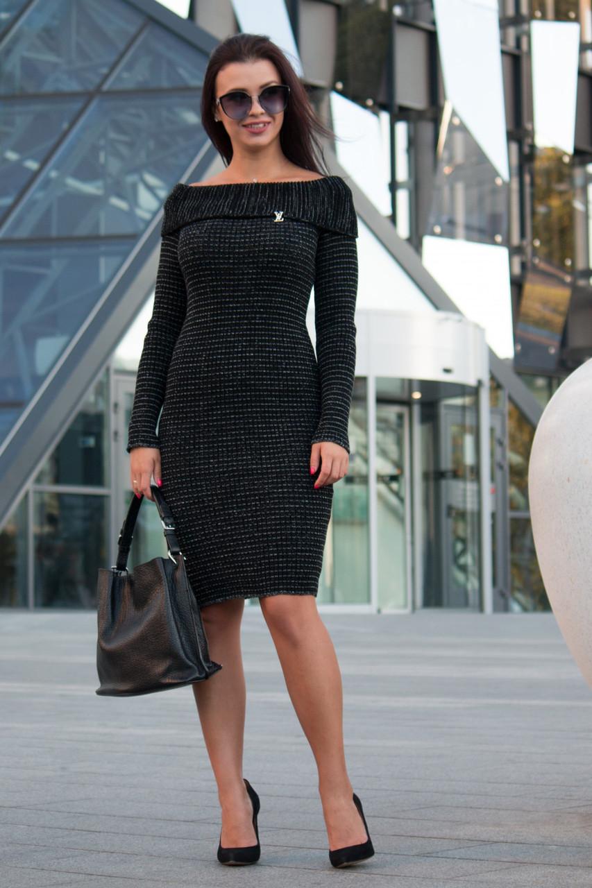 6e9fdc521f7 Вязаное женское платье Ксюша