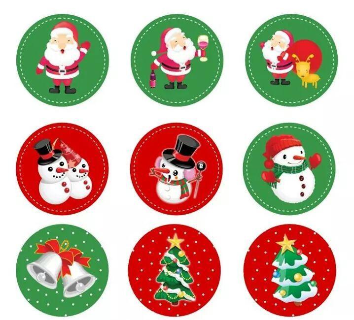 """Картинки для кап-кейков """"Новый год2"""" А4 Галетте- -01262"""