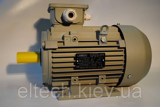 Электродвигатель асинхронный Lammers 13AA-100L-4-В5-2,2квт, фланец, 1500 об/мин.