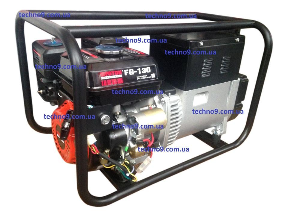 Сварочный бензиновый генератор FOTON FG-130E 2.8кВт