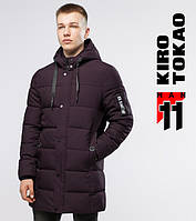Куртка зимняя мужская 6003 бордовая Киро Токао