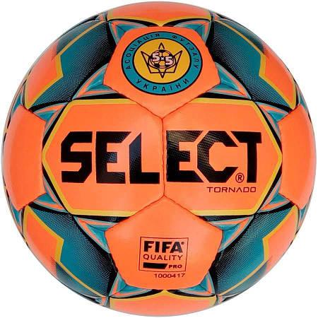 Мяч Футзальный Select Futsal Tornado FIFA NEW Оранжевый (размер 4) 105000-012