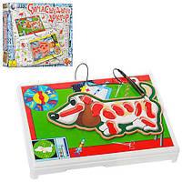Игра G60354, Сумашедший доктор, собака, пинцет, на бат-ке, в кор-ке, 30-26-4см