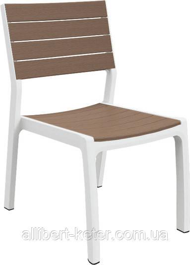 Стілець - крісло HARMONY CHAIR сірий-графіт (Keter)