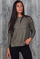 Женский теплый свитер. 5754. Размер 46-48.