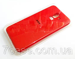 Чехол для Samsung Galaxy J8 j810 2018 силиконовый Molan Cano Jelly Case матовый красный
