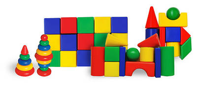 Кубики та будівельні набори