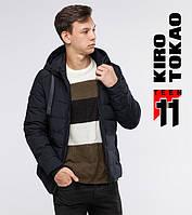 Подростковая зимняя куртка 6008-1 черная Kiro Tоkao