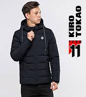 Зимняя куртка на подростка 6015-1 черная Kiro Tоka