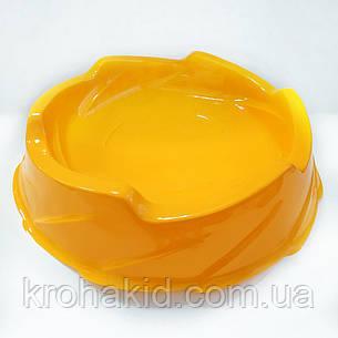 Арена для BeyBlade круглая (желтая) , фото 2