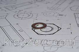Шайба Ф24 плоская DIN 125 из стали А4