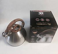 Чайник нержавейка 3,5 л, арт. ЕВ-1975, фото 1