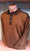 Кофта с воротником-поло мужская бренд BILLIONAIRE на пуговицах