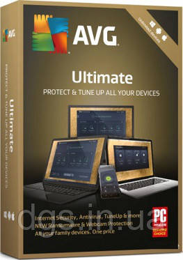 AVG Ultimate 10 ПК 1 год (электронная лицензия)