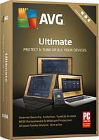 AVG Ultimate Unlimited 1 год (электронная лицензия)