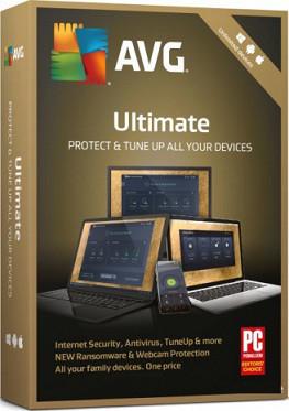 Антивирус AVG Ultimate 2 года (электронная лицензия)