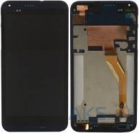Дисплей HTC Desire 816|Оригинал|с сенсорным стеклом и рамкой|желтый шлейф|Синий