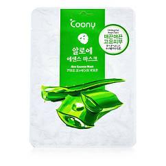 """Маска для лица с экстрактом Алоэ Вера """"Coony"""" Увлажняет и успокаивает кожу Корея KF0002"""