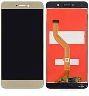 Дисплей Huawei Nova Lite+, Y7 2017 Оригинал с сенсорным стеклом Золотой