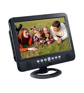 Телевизор аккумуляторный LED TV NS-1001, USB, Экран 13,8 дюймов, 220 В и 12 В