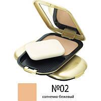 Компактная пудра для лица Max Factor Facefinity Compact № 02 Ivory