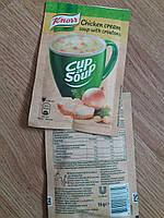 -Чашка супа Knorr- куринный /Венгрия/