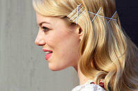 Как правильно носить невидимки для волос